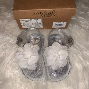 Baby girl Jelly Sandals size 4